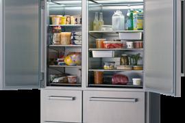 Pro seeria külmik/sügavkülmik. 1219mm. ICBPRO4850