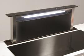 L 87,5cm FLUSH TOP valgustusega tõusev õhupuhastaja S-DD2LEM/88