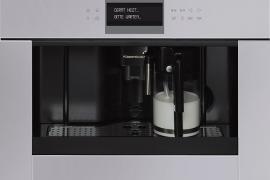 Hall klaas, integreeritav espressomasin, h 45 cm