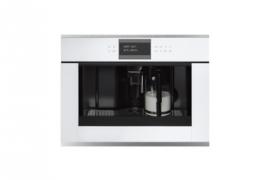 Valge klaas, integreeritav espressomasin, h 45 cm