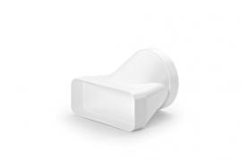 Üleminek kandiliselt ümmargusele ventilatsioonitorule. 4043006