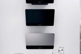 Seinapealne õhupuhasti KULDNE, HALL või MUST klaas, L 60cm ja 80cm